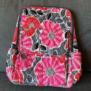 NWT Vera Bradley Backpack in Cherry Blossom